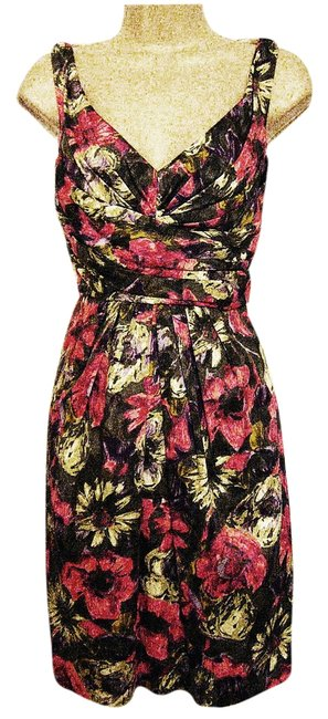 Suzi Chin for Maggy Boutique short dress Multi-Color Sundress Knee-length on Tradesy