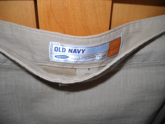Old Navy Skirt Tan, brown and white