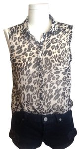 H&M Top Leopard