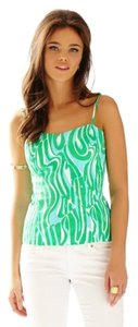 Lilly Pulitzer Top Green And White