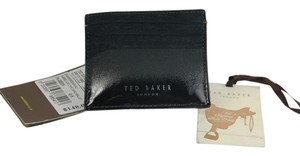 Ted Baker Ted Baker Ombre Lux Leather Card Wallet - Black