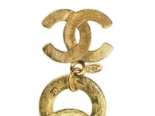 Chanel Chanel Vintage Gold Hoop Belt