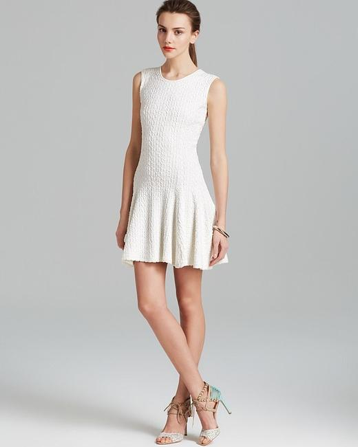 Torn by Ronny Kobo Textured Sleeveless Round Neck Dress