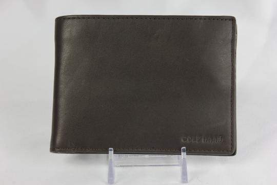 Cole Haan * Cole Haan Slimfold Leather Wallet - Chocolate