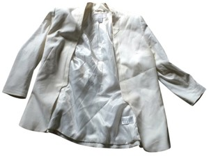 H&M Professional Work Specialoccasion Formal Essential Everyday Chic Tailored White Blazer