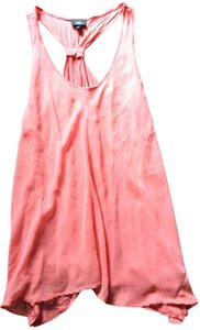 Mossimo Supply Co. Sheer Easy Flowing Bright Colorful Top Pink