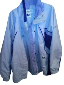 Colombia Sportswear Fireridge Baby blue and dark purple### Jacket