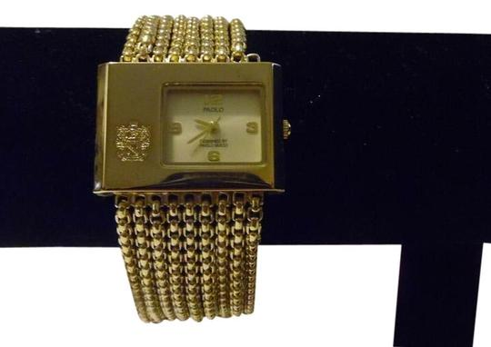 Preload https://img-static.tradesy.com/item/4021363/paolo-goldtone-vintage-gucci-chainmail-bracelet-watch-0-1-540-540.jpg