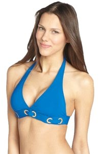 Bleu Rod Beattie Bleu Rod Beattie Bikini Halter Top & bottom Sz 6 two-piece royal blue ring NWT