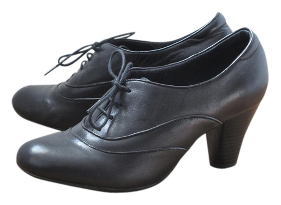 719535ea2f92b Clarks Oxford Heeled Oxford Comfortable Bendables Round Toe black Pumps  Image 0 ...