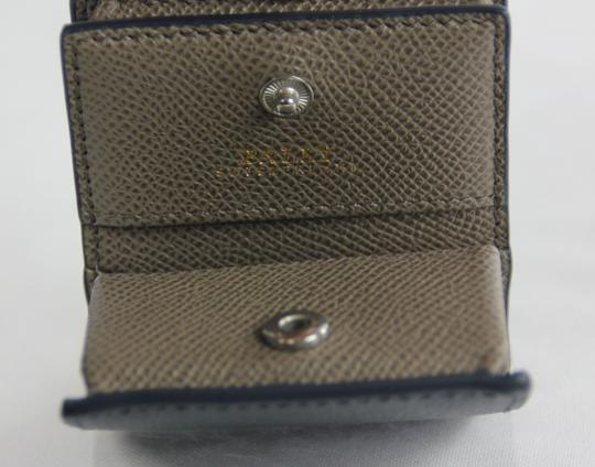 Bally Bally Micro Two Sided Coin Wallet - Navy/Flint