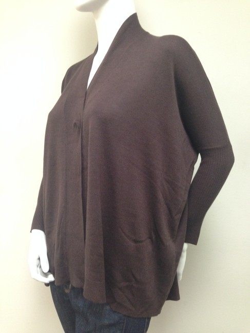 Alice + Olivia Chocolate Oversized Cardigan
