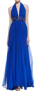Catherine Malandrino Silk Embellished Empire Waist Dress