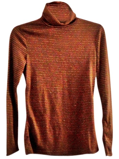 H&M Gold Textured Sweater