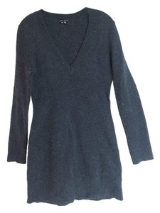 Theory short dress Charcoal Sweater on Tradesy