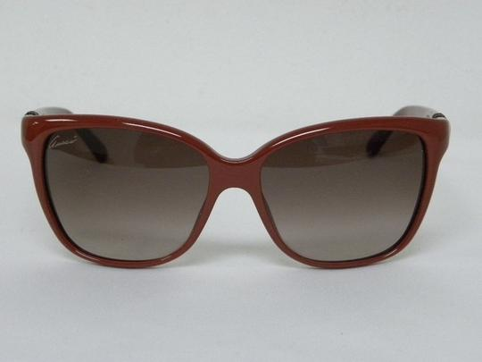 Gucci Gucci GG 3645/S OYO D8 Red Square Cat Eye Women Italy Sunglasses