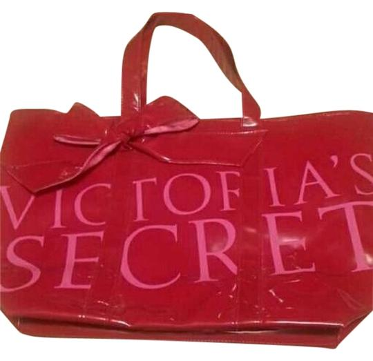 Victoria's Secret Tote in pink.red.