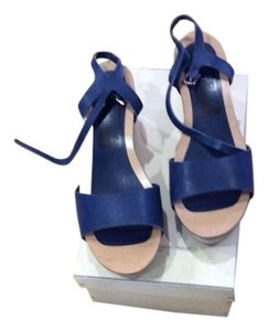 Golden Goose Deluxe Brand Blue Wedges