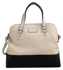Kate Spade Satchel in Buttermilk/Black