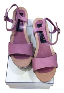 Golden Goose Deluxe Brand Pink Wedges