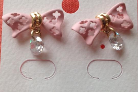 Other 14k Gold Plated Ribbon Like Earring
