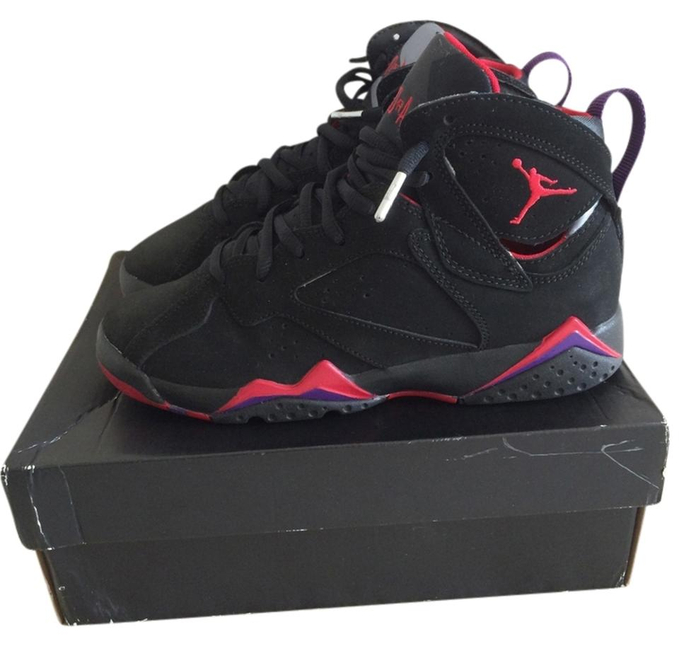 best loved 0dba8 ba9a6 Nike Black/Red/Purple Air Jordan 7 Retro (Gs) Sneakers Size US 4.5 Regular  (M, B)