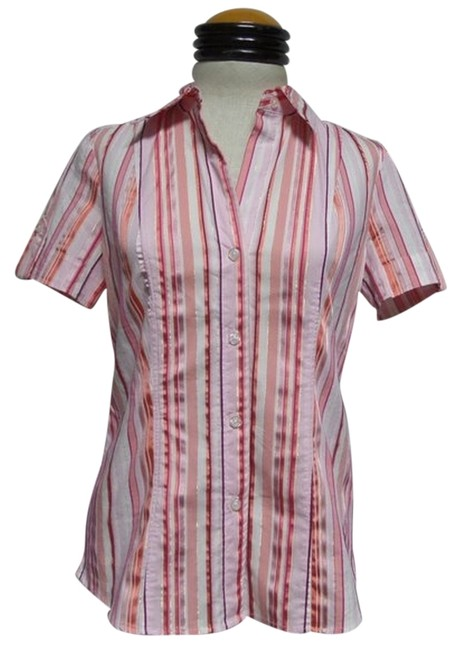 Preload https://item2.tradesy.com/images/new-york-and-company-pink-and-white-striped-button-down-top-size-6-s-4024771-0-0.jpg?width=400&height=650
