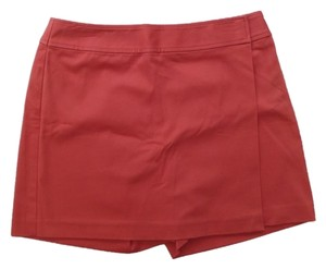 Ann Taylor Skort Burnt Orange