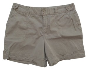 St John's Bay Cuffed Shorts Tan