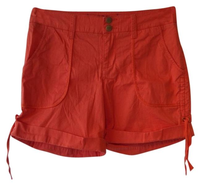 Sonoma Cuffed Shorts Orange