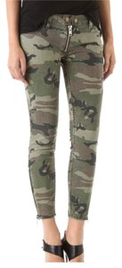 Elizabeth and James Camoflauge Skinny Pants Camo