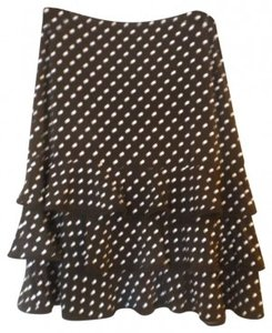 Body Central Skirt black and white