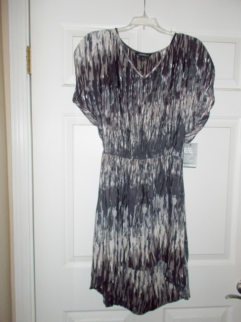 Express short dress black/multi on Tradesy