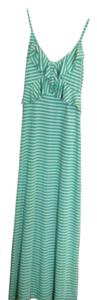 Green And Tan Maxi Dress by Chelsea & Violet