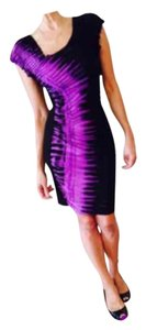 Rampage short dress Black/purple on Tradesy