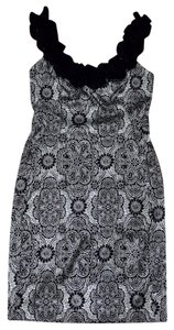 Maggy London short dress Black & White on Tradesy