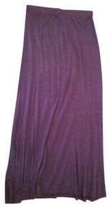 Moda International Maxi Skirt purple, grey, turquoise