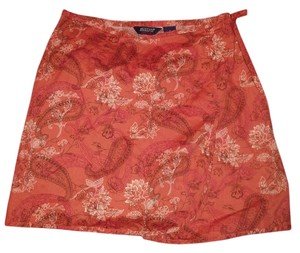 Austin Reed Mini Skirt coral