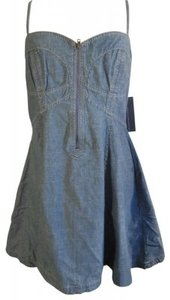French Connection short dress Light Blue Denim on Tradesy