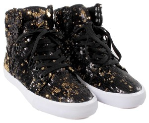 Supra Black And Gold Athletic