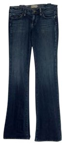 Paige Denim Laurel Canyon Boot Cut Jeans-Dark Rinse