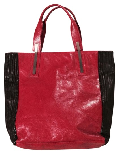 W118 by Walter Baker Tote in Red And Black