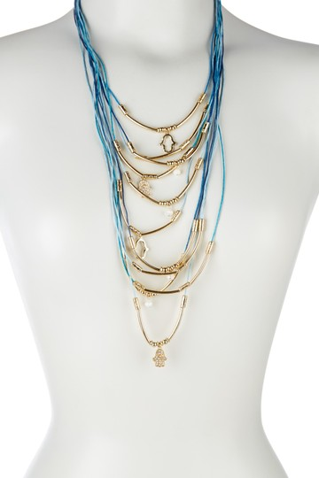 Sparkling Sage Sparkling Sage Mixed Charm Multi Layer Bohemian Necklace