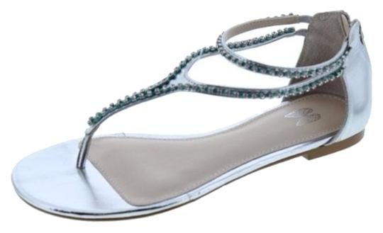 Victoria's Secret Silver Rhinestone Sandals