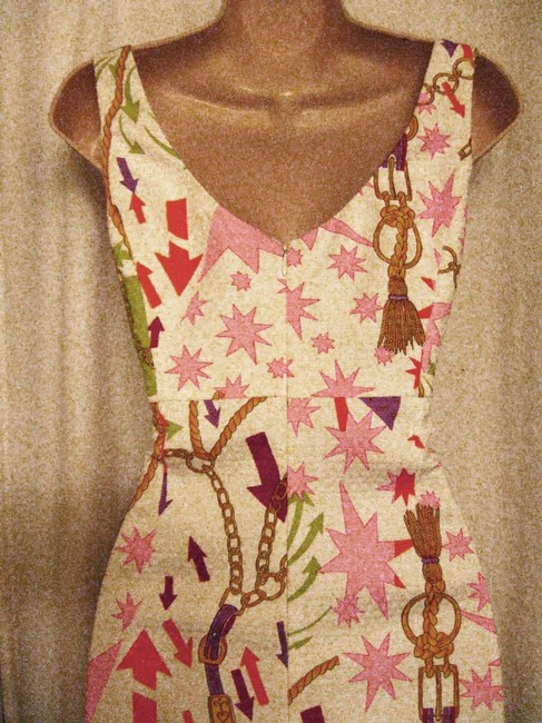KNH Kenth Andersson short dress Multi-Color Sleeveless White Background on Tradesy