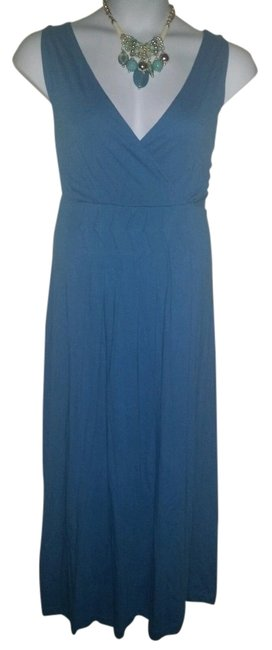 Preload https://item2.tradesy.com/images/westbound-blue-with-front-pleats-long-casual-maxi-dress-size-10-m-4029271-0-0.jpg?width=400&height=650