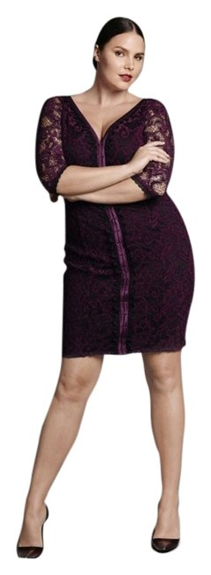 Preload https://item4.tradesy.com/images/isabel-toledo-dress-deep-red-wine-with-black-details-4029283-0-0.jpg?width=400&height=650