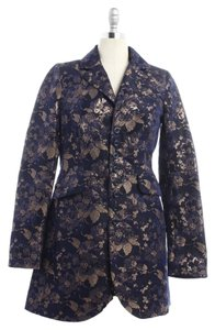 Free People Purple, gold, rose gold, navy Jacket