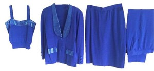 Karyn Couture - St John Knits Lush Knit 4 pc set-- Jacket, Pants, Skirt and Top