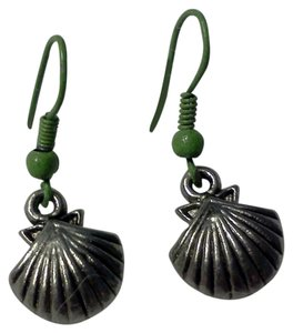 Other New never worn hook style shell earrings, made by Me
